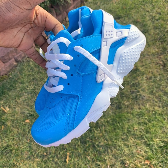 Nike Shoes | Blue Huaraches Custom Nike